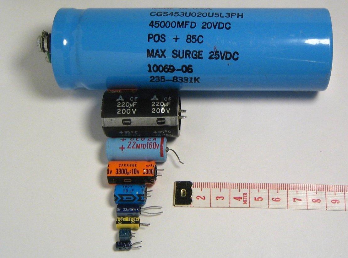 Practice of Capacitors