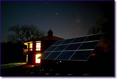 Solar night lighting