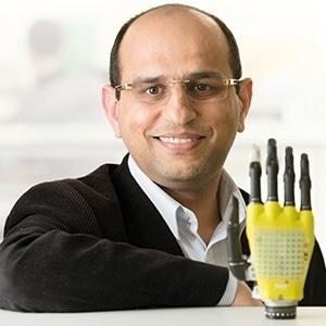 Solar powered prostheticskin