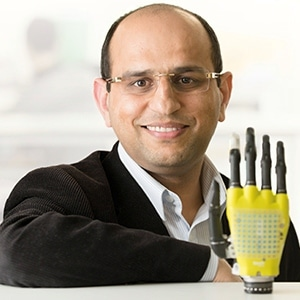 Solar powered prosthetic skin