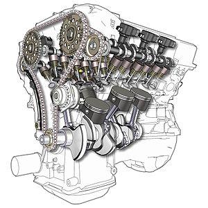 V-6 engines