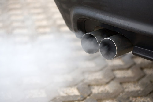 Exhaust gas