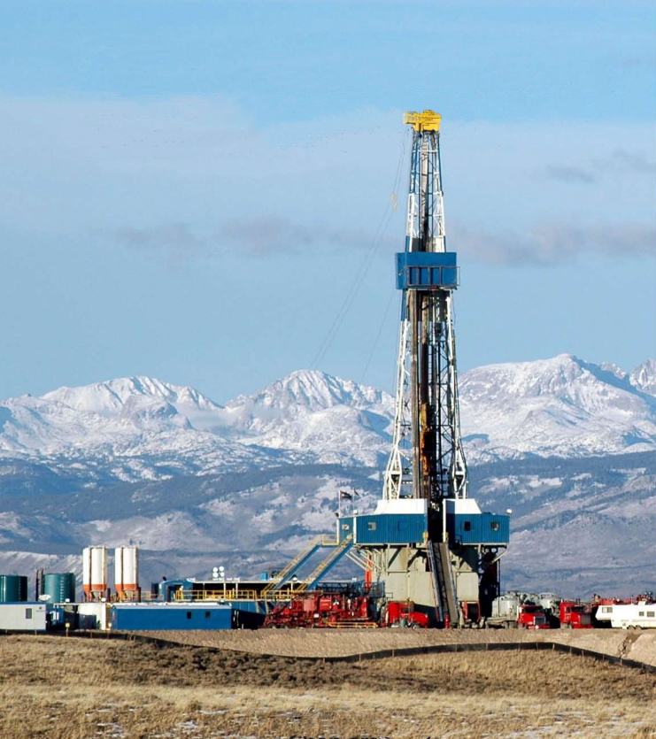 The fracking process