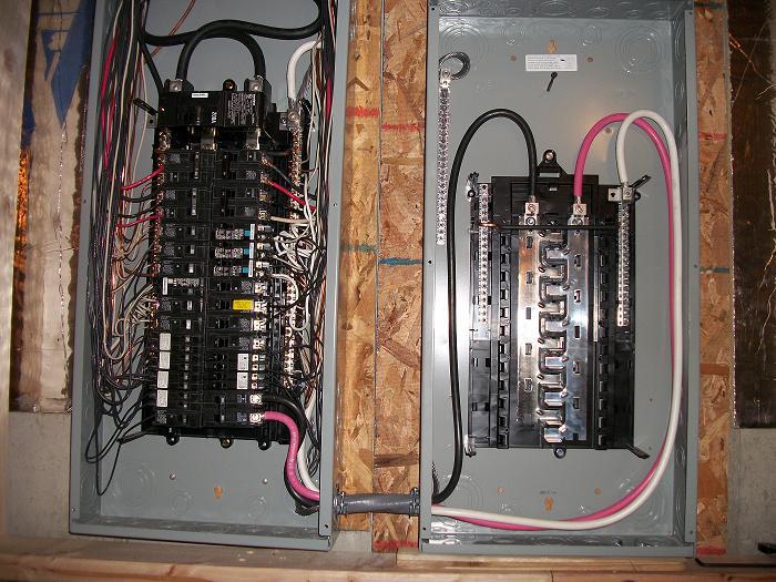 Electric Sub-Panels