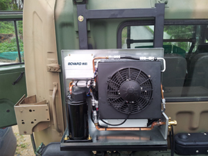 Battery Powered HVAC for Trucks