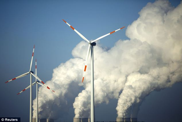 Does Global Warming Slow Down Wind Turbines?