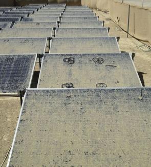 Dust on SolarPanels