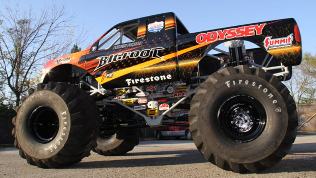 The World's First Electric MonsterTruck