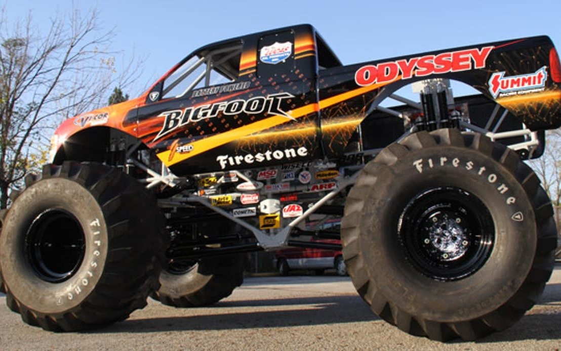 The World's First Electric Monster Truck