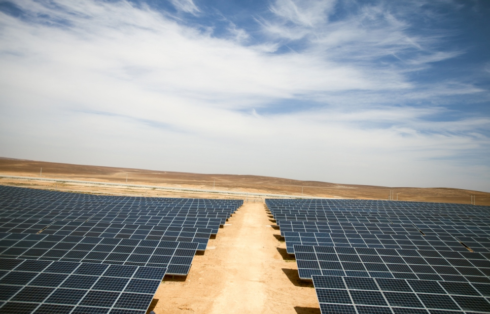 The Azraq Refugee Camp and Renewable Energy
