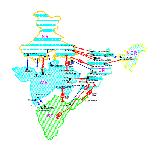 India's National Power Grid