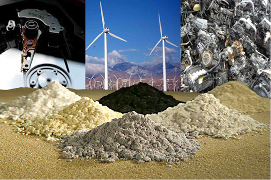 Recycling Rare Earth Minerals