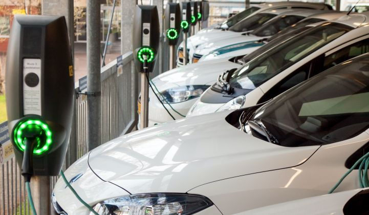 How Marking up the Cost of Electricity at Charge Points Can Help Recover the Cost of Electric Vehicle Chargers