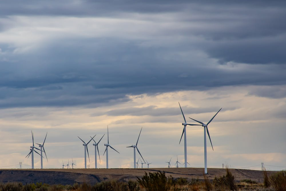 The Carbon Footprint of Wind Energy