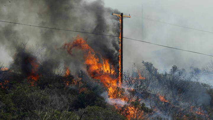 Why Do Transmission Line Failure Cause a Disproportionate Amount of the Wildfires in California