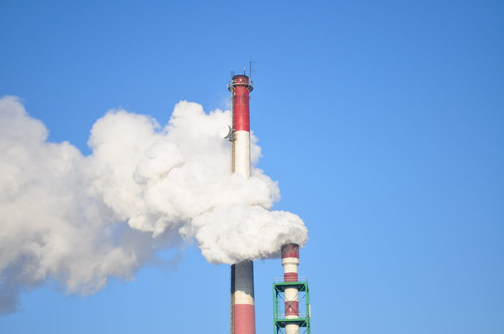 The Correlation Between Carbon and Pollution Emissions